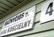 Horrendalna kara pieniężna za dwujęzyczne tablice na Wileńszczyźnie